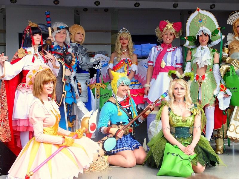 欧州最大のコスプレ祭り!デュッセルドルフの日本デー