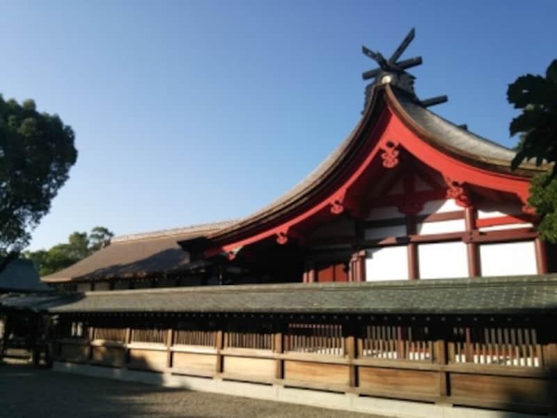 宗像大社・辺津宮(4)/拝殿と本殿