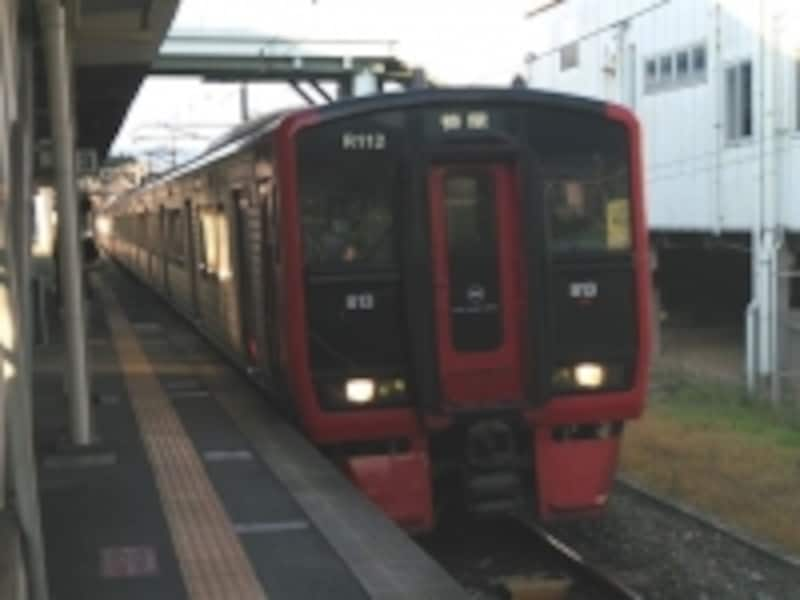 JR九州鹿児島線の列車