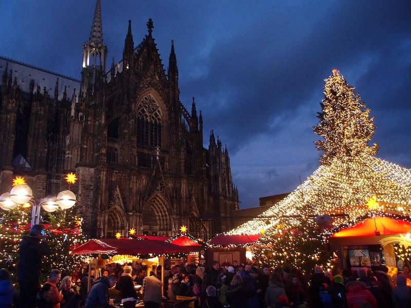 ドイツ西部最大!ケルンのクリスマスマーケット2017