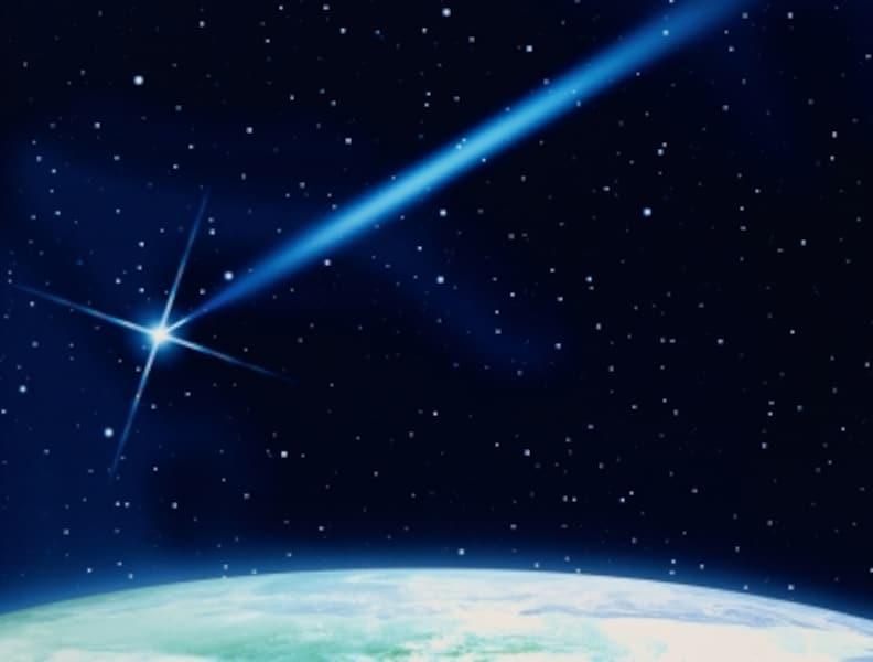 流星が現れる場所は、高度100kmあたり。