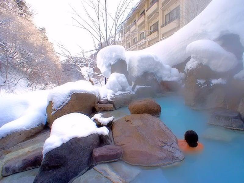 雪見温泉を日帰りや貸し切りで!関東周辺の雪見露天風呂10選