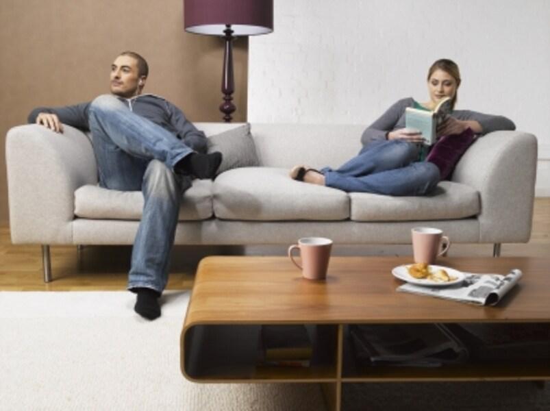 「夫」と「妻」という役割によるものなのか、距離感によるものなのか。