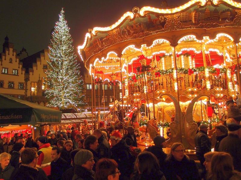 フランクフルトのクリスマスマーケット2017