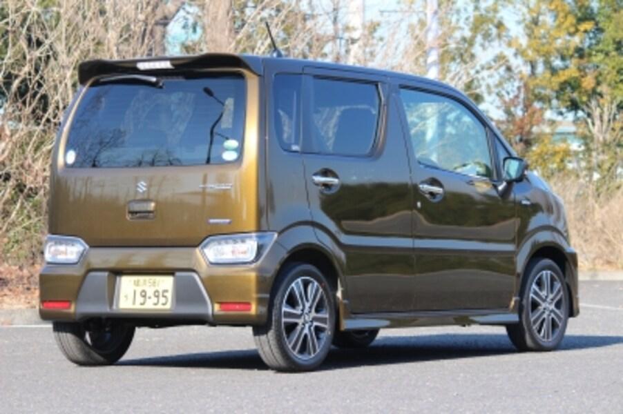 新型スズキ・ワゴンR