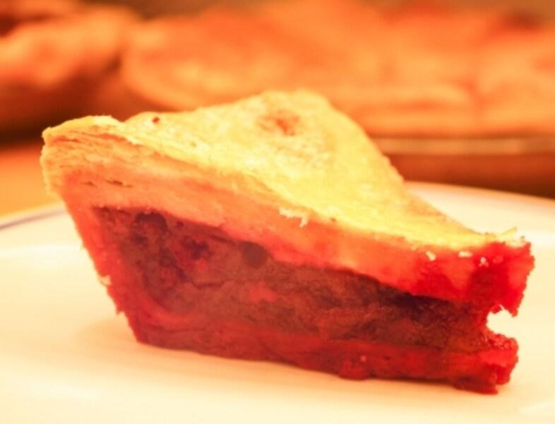 """Mom's""""Cherry""""DoubleCrust(マムズ""""チェリー""""クラスト)Whole3,200円/Slice400円(税抜)"""
