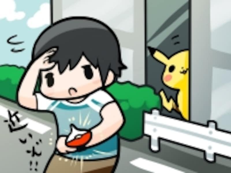 ポケモンGOの図