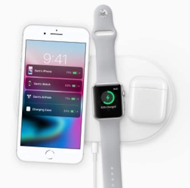 iPhone8/8Plusもワイヤレス充電に対応している