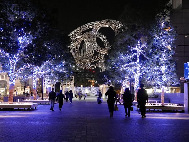 横浜・みなとみらいクリスマスイルミネーション2017