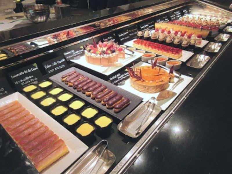 ザ・テラスデザートアトリエのブッフェ台