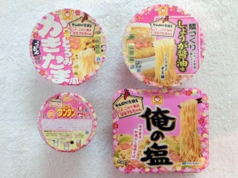 東洋水産がんばれ!受験生シリーズカップ麺4品