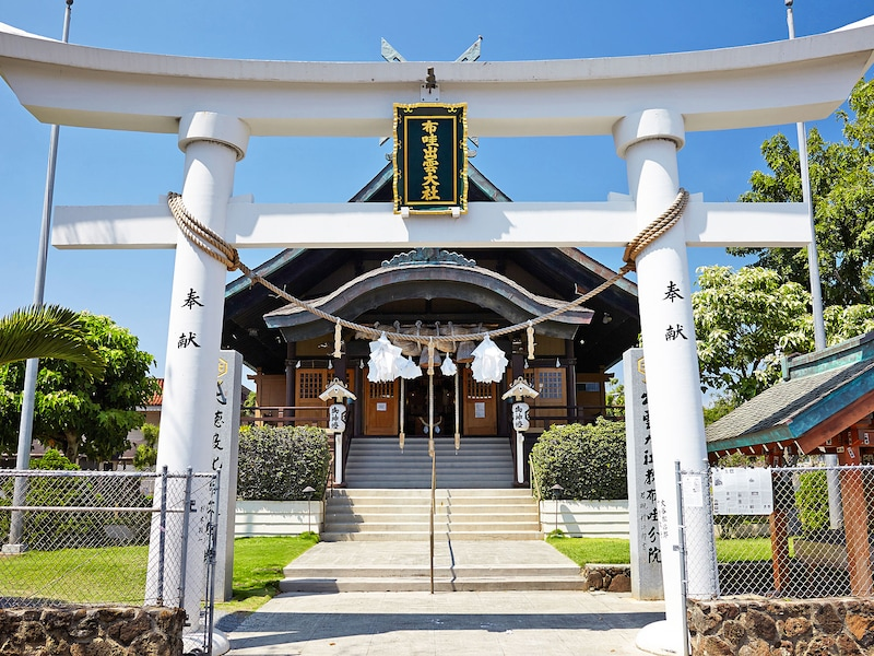 ハワイ出雲神社の参拝!御朱印や人気のお守り&行き方