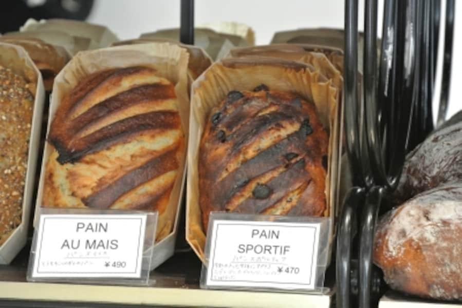 初めてのめずらしいパンにも出合えるかも