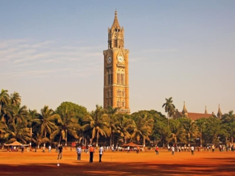 インドの世界遺産「ムンバイのヴィクトリア・ゴシック様式とアール・デコ様式の建造物群」ラジャバイ時計台