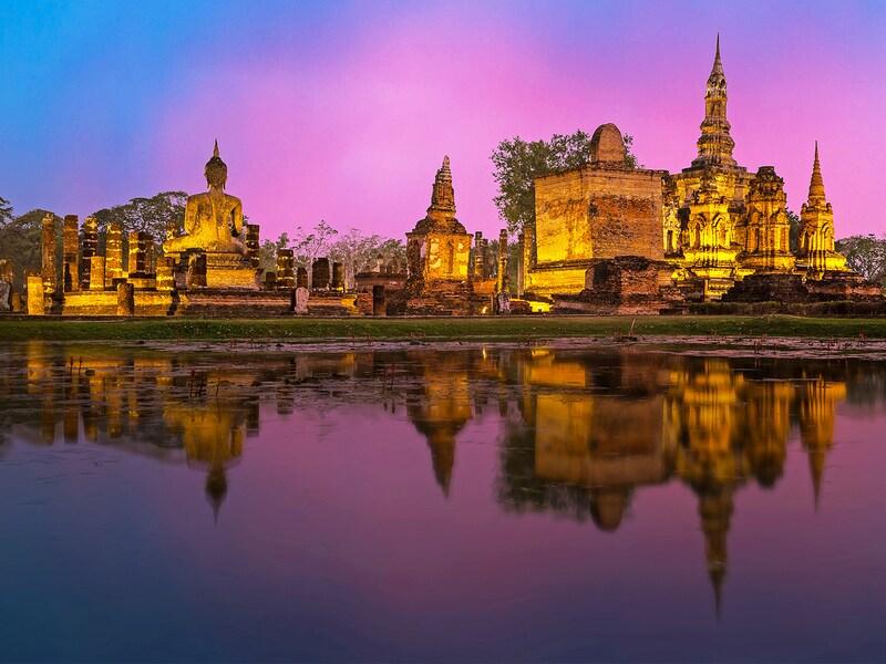 タイの世界遺産2018!全5件の世界遺産の観光情報