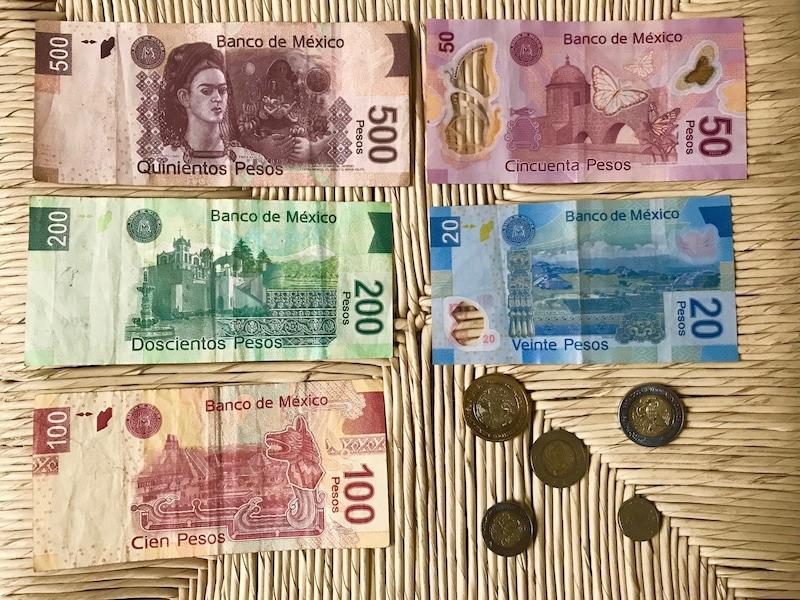 メキシコの通貨(メキシコペソ)と為替レート
