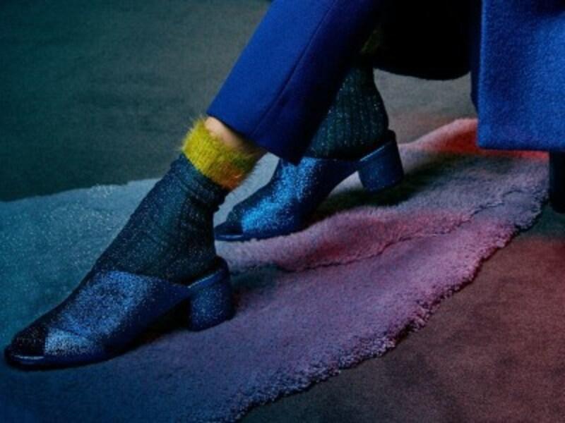 サンダル×靴下