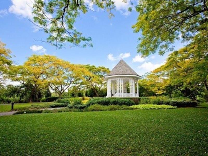 シンガポール初の世界遺産/シンガポール植物園