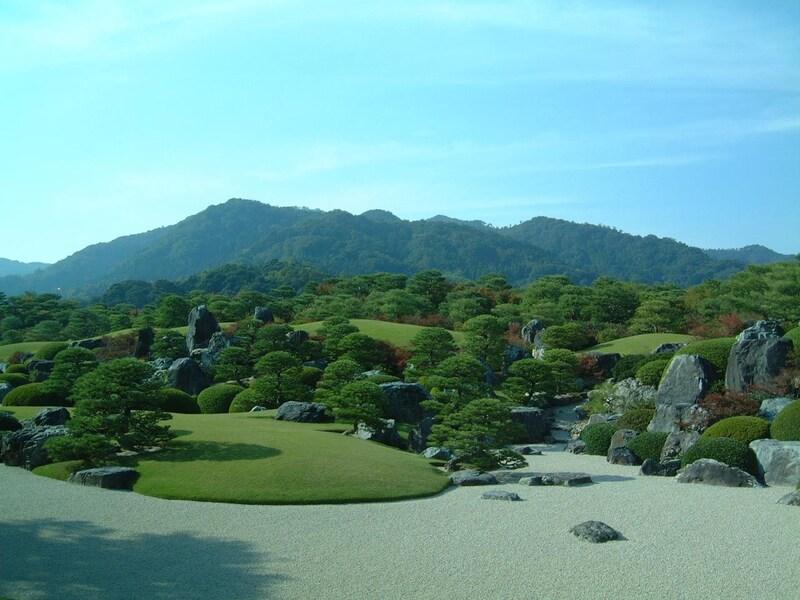 日本一美しい庭園、足立美術館へ/島根