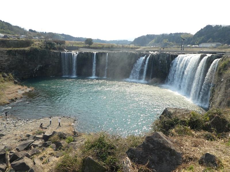 原尻の滝はまさに東洋のナイアガラ!/大分
