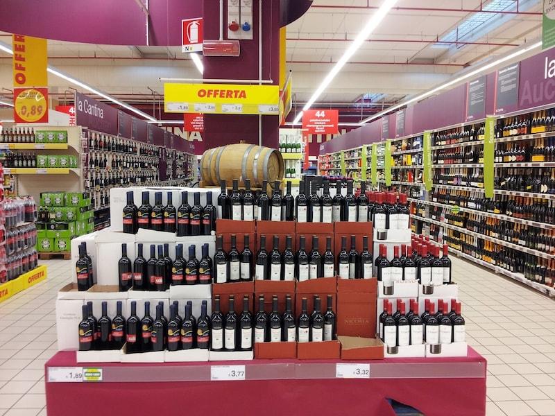 イタリアのスーパーで買えるお土産 ばらまき用にも