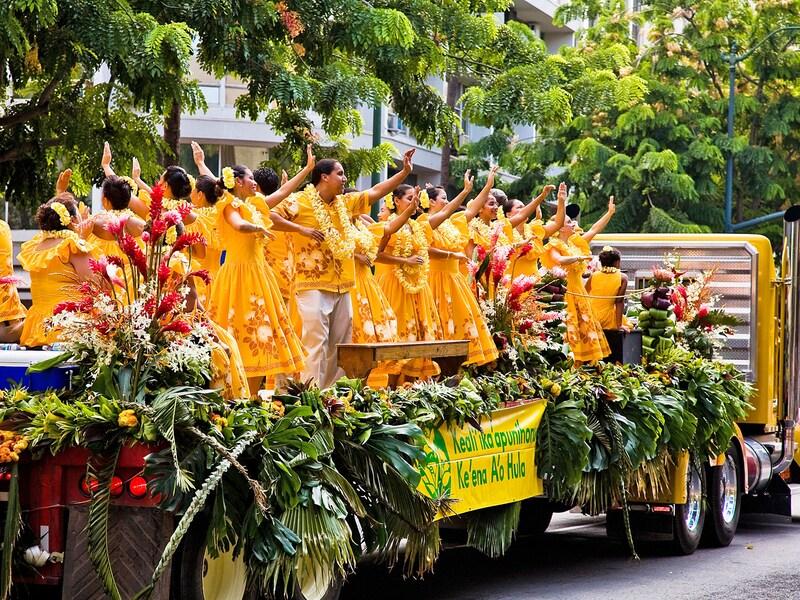 ハワイ州最大の祭り、アロハ・フェスティバル