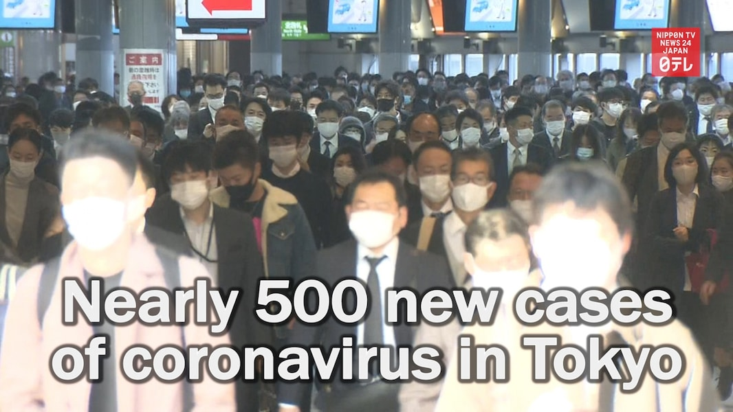 Tokyo Reports Record High of COVID-19 Cases