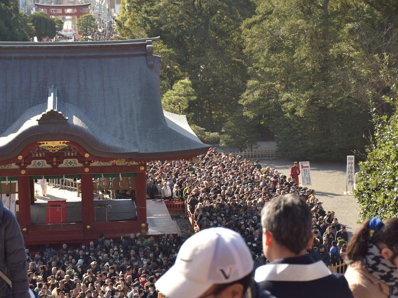 鎌倉のお正月2019はこれで完璧!初詣から混雑状況まで