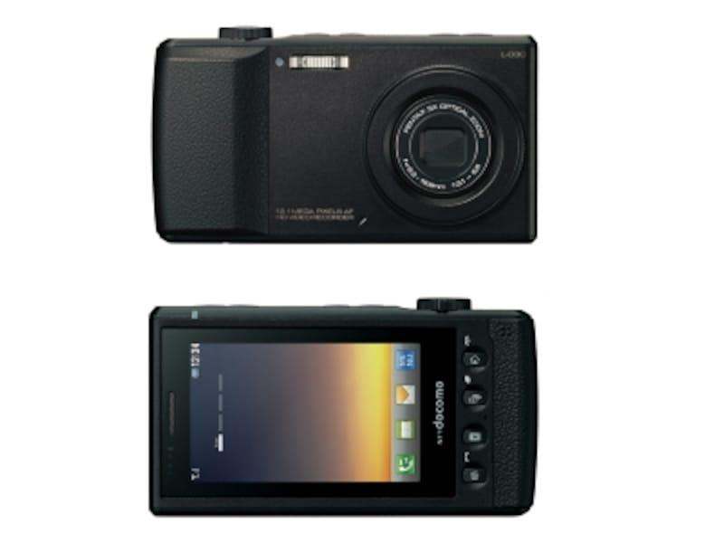 画質も形状もまさにデジタルカメラなNTTドコモundefinedL-03C(画像クリックで拡大)