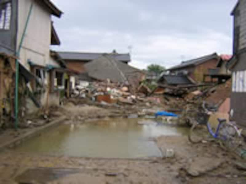 地震保険の査定は建物の外観でまず判断される