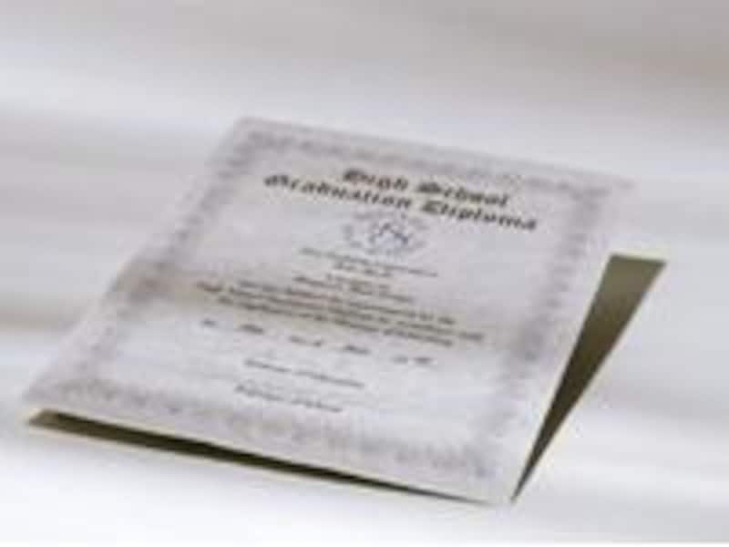 卒業証書のイメージ
