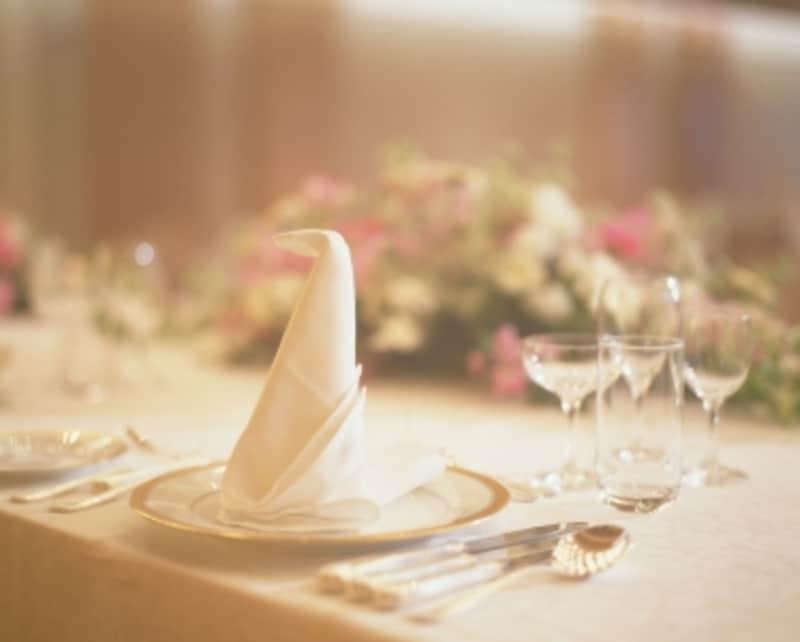 テーブルマナーにおいて、ナプキンを使いこなせている人は意外に少ない?