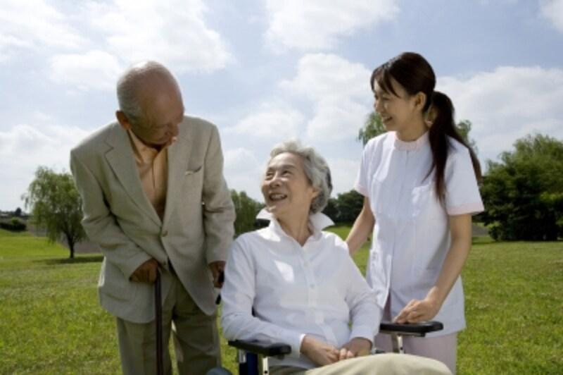 介護保険サービスは本当に頼りになるわ!