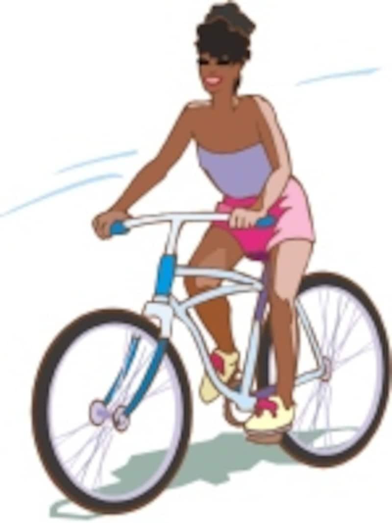 究極のエコ乗り物の自転車