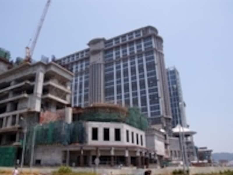 続々と豪華リゾートホテルの建設が進むコタイ地区
