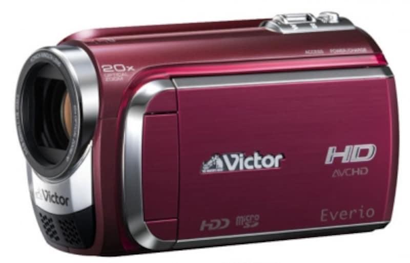 ▲ビクターのEverioGZ-HD300。