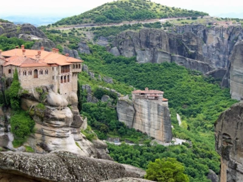 ギリシアの世界遺産「メテオラ」