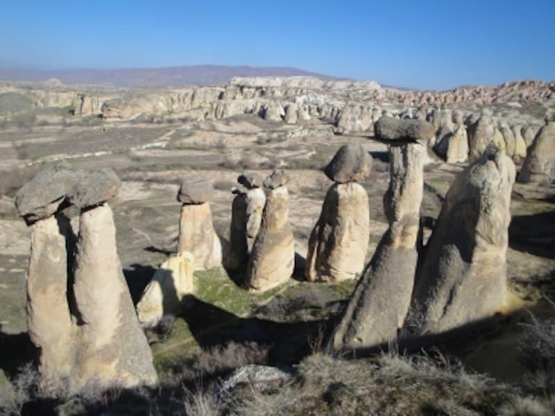 トルコの世界遺産「ギョレメ国立公園とカッパドキアの岩窟群」