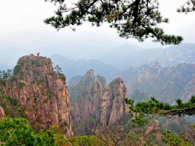 中国の世界遺産「黄山」