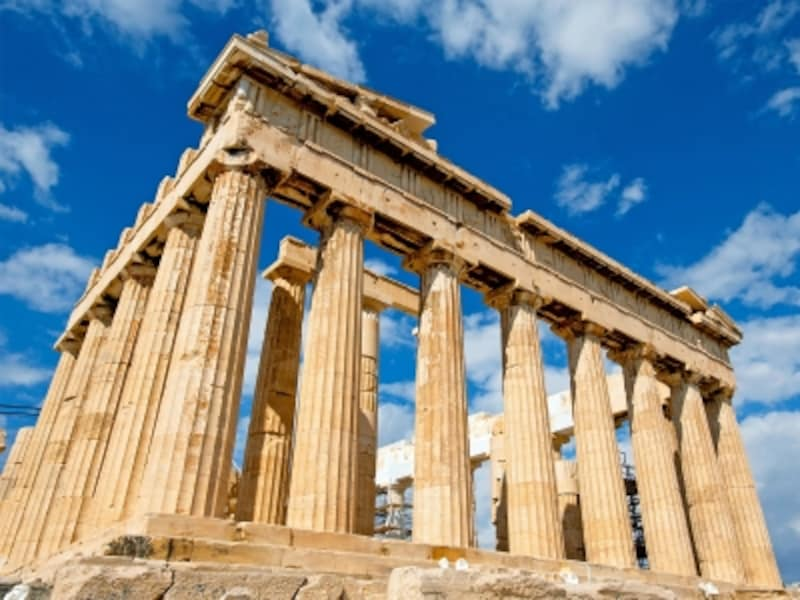 ギリシアの世界遺産「アテネのアクロポリス」のパルテノン神殿