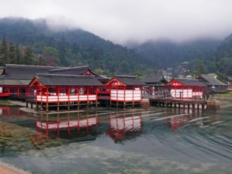 日本の世界遺産「厳島神社」