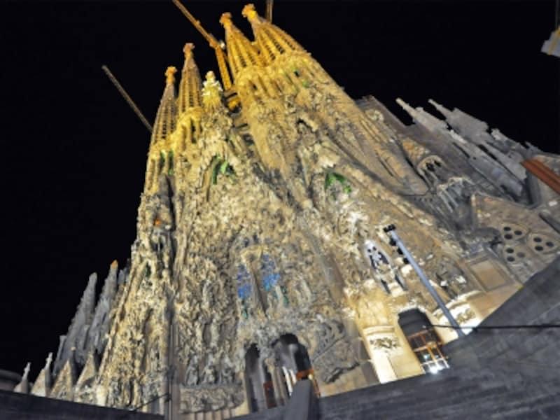スペインの世界遺産「アントニオ・ガウディの作品群」、サグラダファミリア