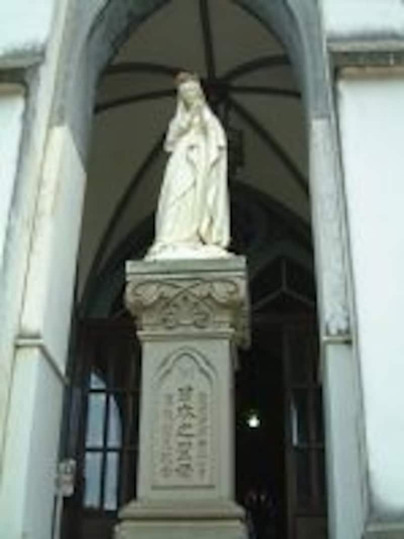 大浦天主堂(2)/日本之聖母像