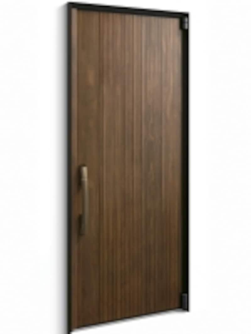 表面材に高耐候天然木を採用、断熱性能を高めた金属製ドア。[高断熱玄関ドアundefinedInnoBestD70]YKKAPhttp://www.ykkap.co.jp/