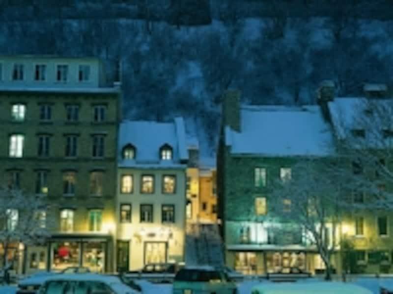 冬はどっさり雪が積もります。(C)FarimontResorts&Hotels
