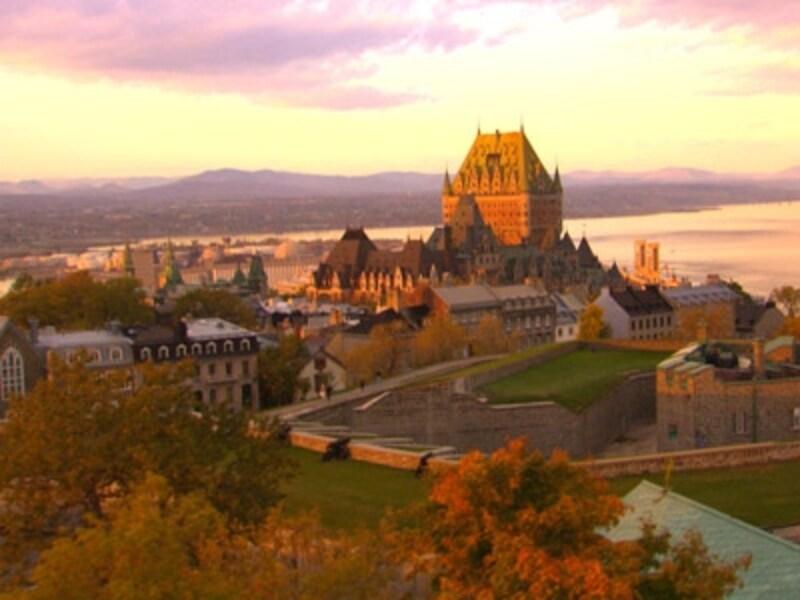 ケベックシティの旬の季節は何と言っても秋!(C)TourismQuebec