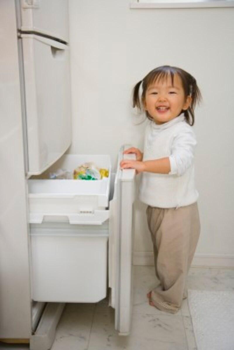 子どもは冷蔵庫が大好き