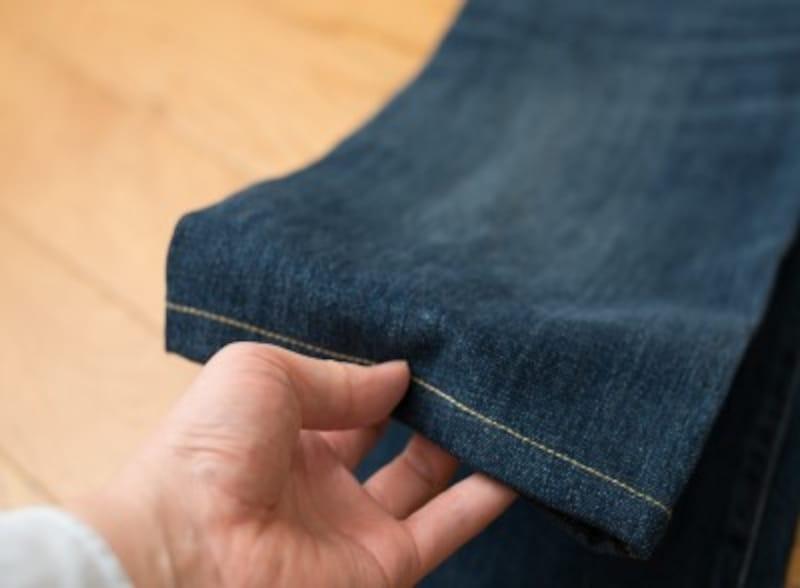 手縫い&ミシンで裾上げしよう!