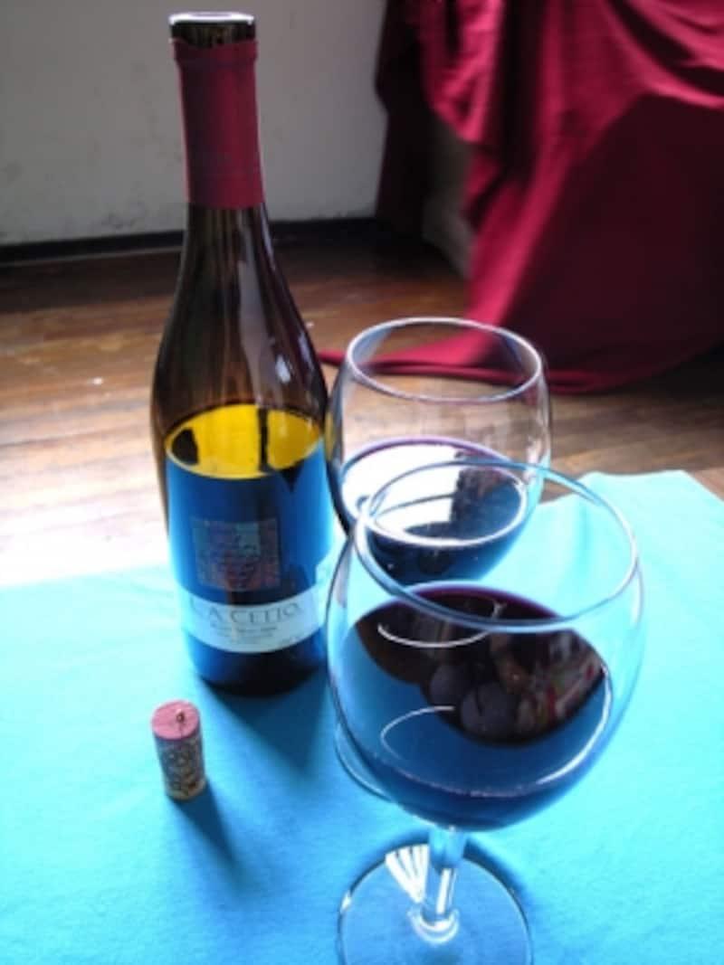 バハカリフォルニア州産、ラセットのワイン