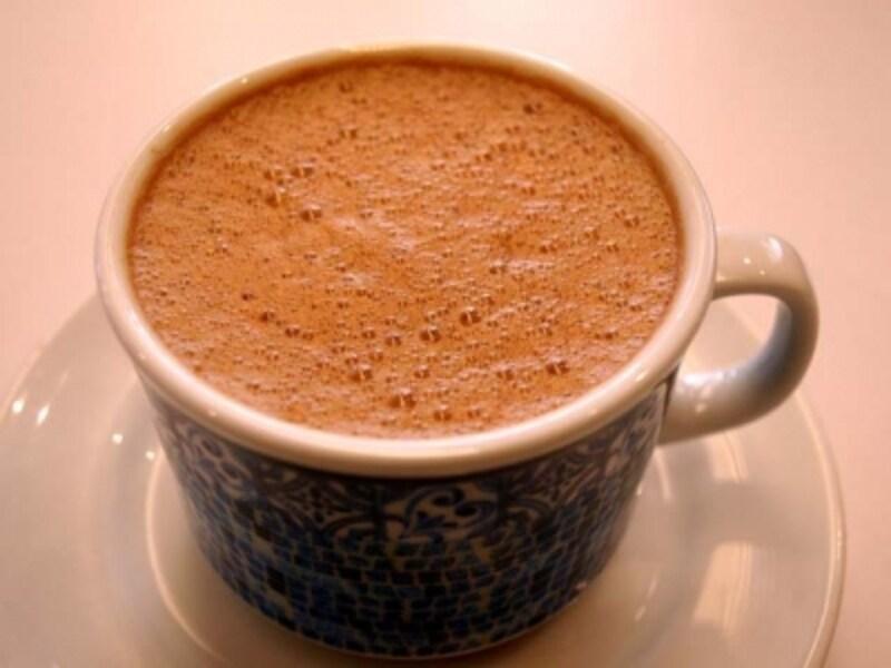 チョコラーテは泡立ちが重要